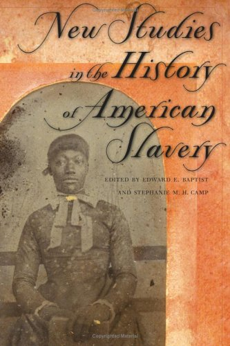 New Studies in the History of American Slavery   2006 edition cover