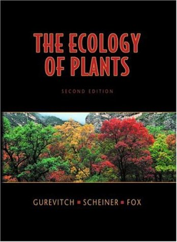Ecology of Plants  2nd 2006 (Revised) edition cover