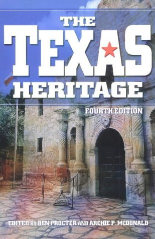 Texas Heritage  4th 2003 9780882959948 Front Cover