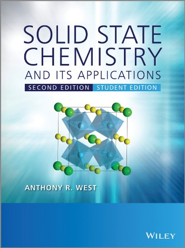 Solid State Chemistry and Its Applications 2nd 2013 (Student Manual, Study Guide, etc.) edition cover