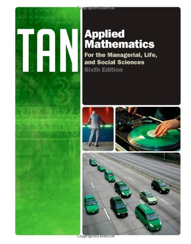 Applied Mathematics for the Managerial, Life, and Social Sciences  6th 2013 edition cover