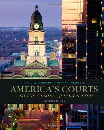 America's Courts and the Criminal Justice System:   2013 9781285061948 Front Cover