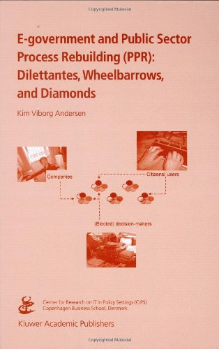E-Government and Public Sector Process Rebuilding Dilettantes, Wheel Barrows, and Diamonds  2005 9781402079948 Front Cover