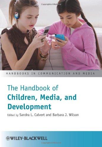 Handbook of Children, Media and Development   2011 edition cover