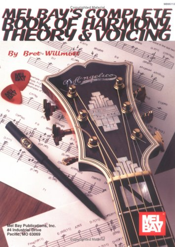 Complete Book of Harmony, Theory and Voicing   1994 edition cover
