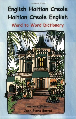 English Haitian Creole Dictionary 2nd 2005 edition cover