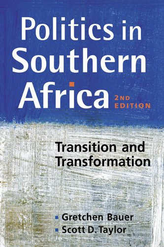 Politics in Southern Africa Transition and Transformation 2nd 2011 edition cover