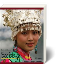Introduction to Sociology  4th 2009 edition cover