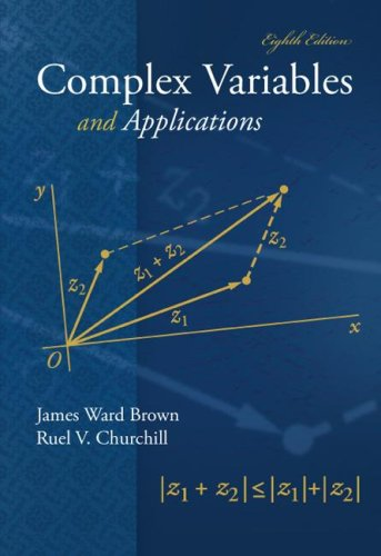 Complex Variables and Applications  8th 2009 edition cover