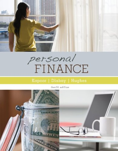 Personal Finance with Connect Plus  10th 2012 edition cover