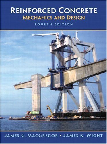 Reinforced Concrete Mechanics and Design 4th 2004 edition cover