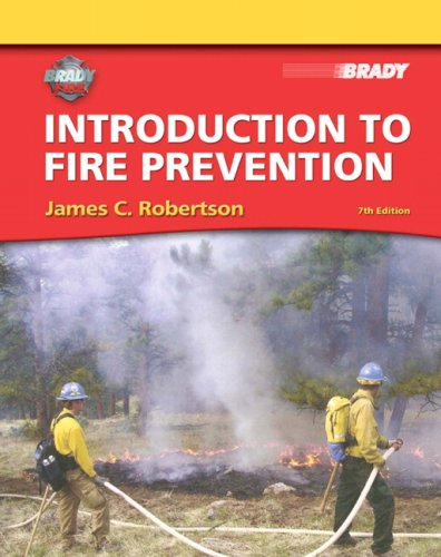 Introduction to Fire Prevention  7th 2010 9780135041949 Front Cover