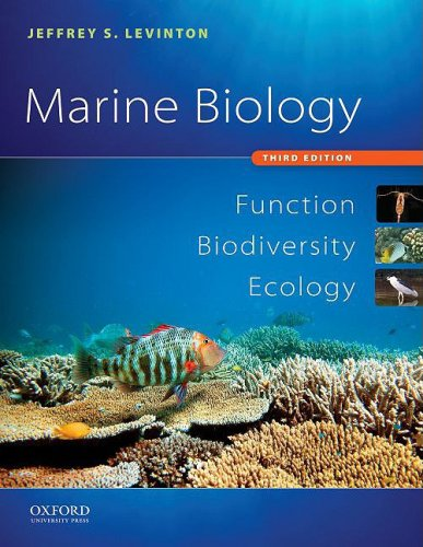 Marine Biology Function, Biodiversity, Ecology 3rd 2009 9780195326949 Front Cover