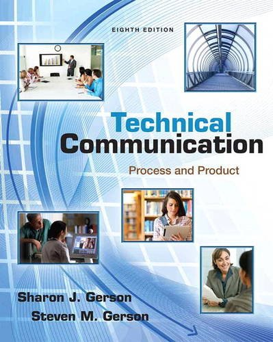 Technical Communication Process and Product 8th 2014 edition cover