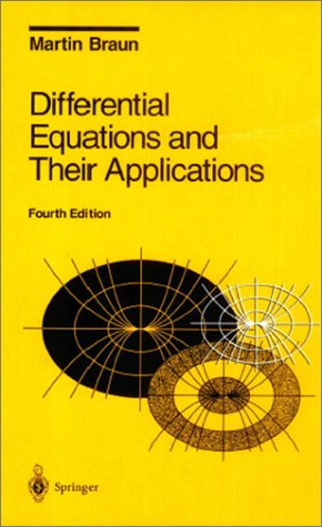 Differential Equations and Their Applications An Introduction to Applied Mathematics 4th 1993 (Revised) edition cover
