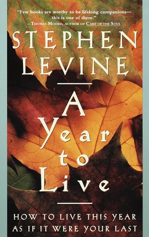 Year to Live How to Live This Year As If It Were Your Last N/A edition cover