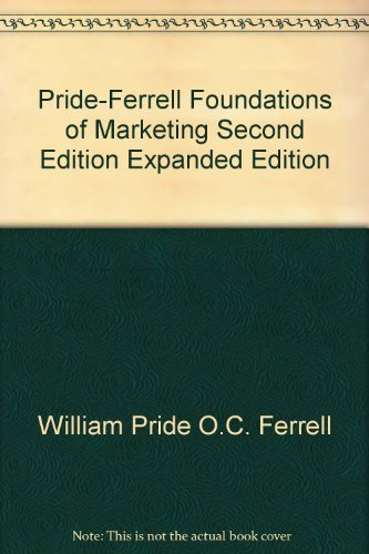FOUNDATIONS OF MARKETING >CUST 2nd 2006 9780618766949 Front Cover