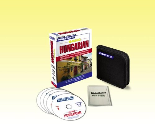 Basic Hungarian: Learn to Speak and Understand Hungarian With Pimsleur Language Programs  2008 edition cover