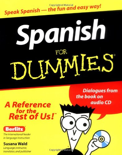 Spanish for Dummies�   2000 edition cover