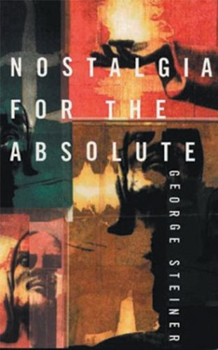 Nostalgia for the Absolute  2nd edition cover