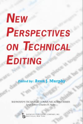 New Perspectives on Technical Editing   2010 edition cover