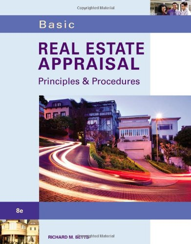 Basic Real Estate Appraisal (with Student CD-ROM)  8th 2013 edition cover