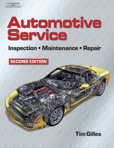 Bundle: Automotive Service: Inspection, Maintenance and Repair + Repair with Lab Manual  2nd 2004 9781401826949 Front Cover