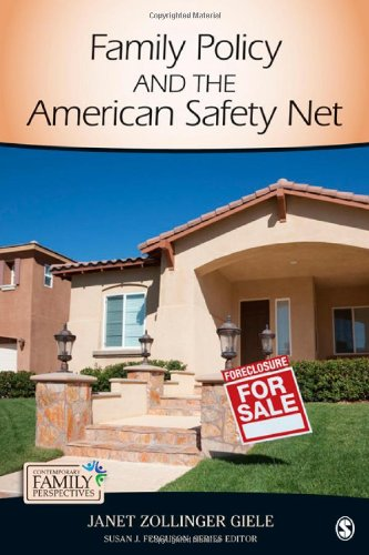 Family Policy and the American Safety Net   2013 edition cover