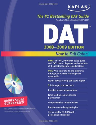 DAT 2008-2009  5th edition cover