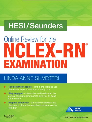 Online Review for the Nclex-Rn Examination   2011 edition cover