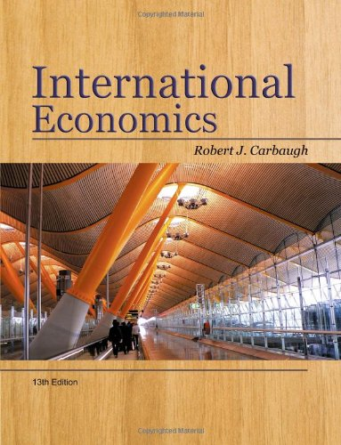 International Economics  13th 2011 9781439038949 Front Cover
