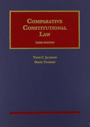 Comparative Constitutional Law:   2014 edition cover