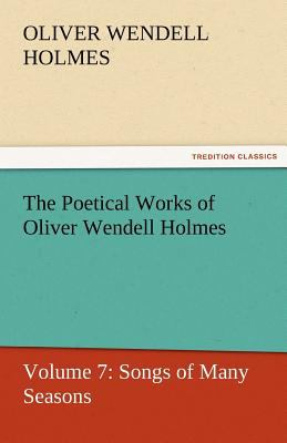 Poetical Works of Oliver Wendell Holmes  N/A 9783842429949 Front Cover