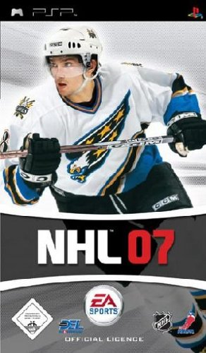 NHL 07 Sony PSP artwork