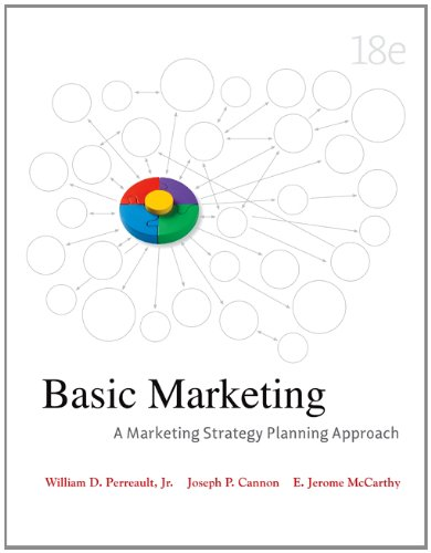 Basic Marketing  18th 2011 edition cover