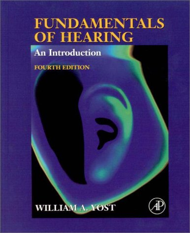 Fundamentals of Hearing An Introduction 4th 2000 (Revised) edition cover
