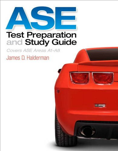 ASE Test Prep and Study Guide   2014 edition cover