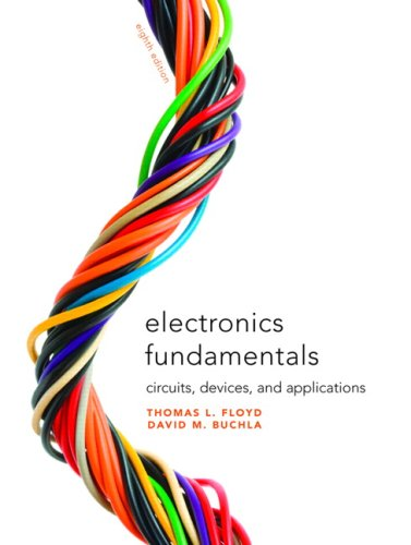 Electronics Fundamentals Circuits, Devices and Applications 8th 2010 9780135072950 Front Cover