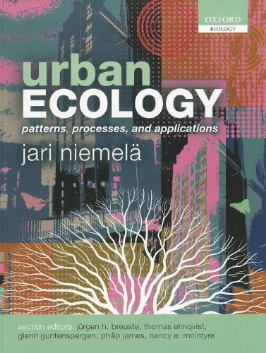 Urban Ecology Patterns, Processes, and Applications  2011 edition cover
