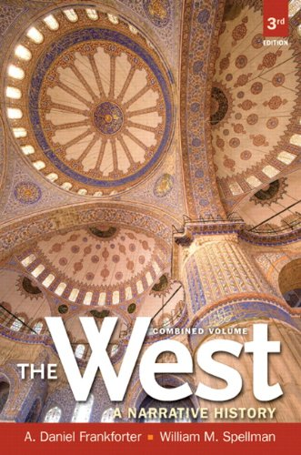 West A Narrative History 3rd 2013 (Revised) edition cover
