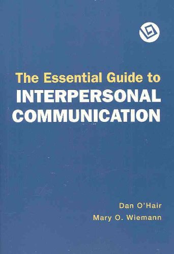 Essential Guide to Interpersonal Communication  2006 edition cover