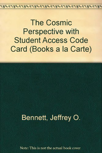 Cosmic Perspective, the, Books a la Carte Plus MasteringAstronomy with EText -- Access Card Package  7th 2014 edition cover