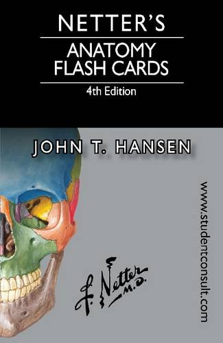 Netter's Anatomy Flash Cards With Online Student Consult Access 4th 2014 9780323185950 Front Cover