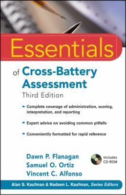 Essentials of Cross-Battery Assessment  3rd 2013 edition cover