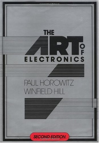 Art of Electronics  2nd 1989 (Revised) edition cover
