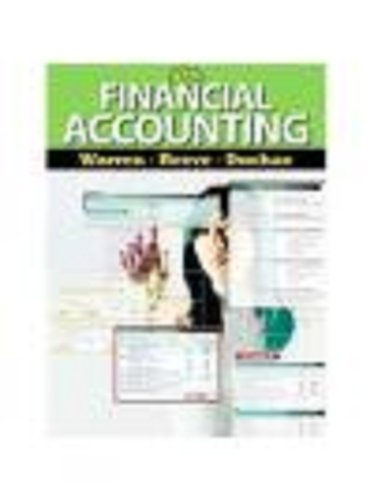 Financial Accounting  12th 2012 9780538479950 Front Cover