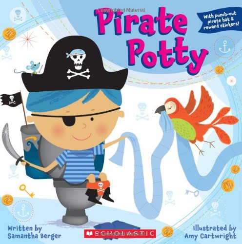 Pirate Potty  N/A 9780545172950 Front Cover