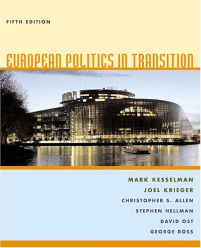 European Politics in Transition  5th 2006 edition cover