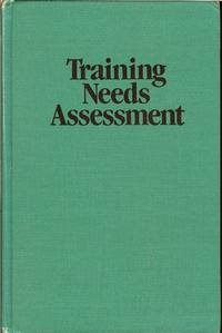 Training Needs Assessment N/A edition cover