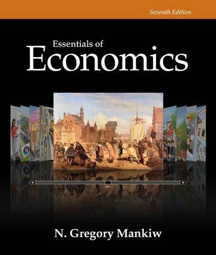 Essentials of Economics:   2014 9781285165950 Front Cover